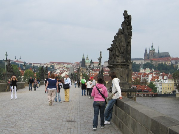 Fantastiska Charles Bridge.