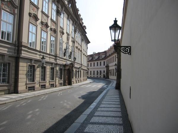 Tjeckiska parlamentet, Malá Strana.