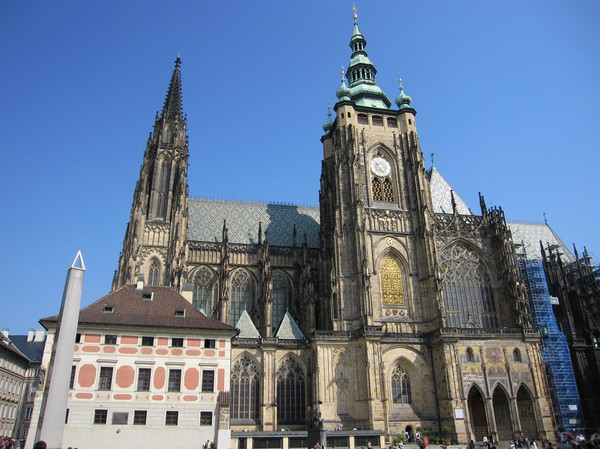 St Vitus Cathedral, Prague Castle.
