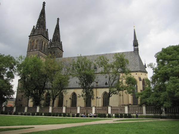 SS Peter & Paul Church, Vysehrad Castle.