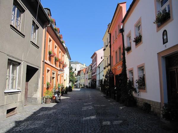 Gatuscen gamla staden, Olomouc