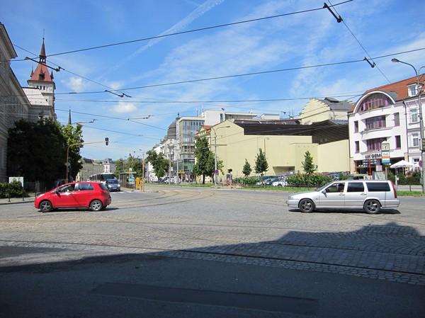 Gatuscen centrala Olomouc.