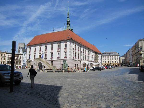 Stadshuset byggt 1938, Olomouc.