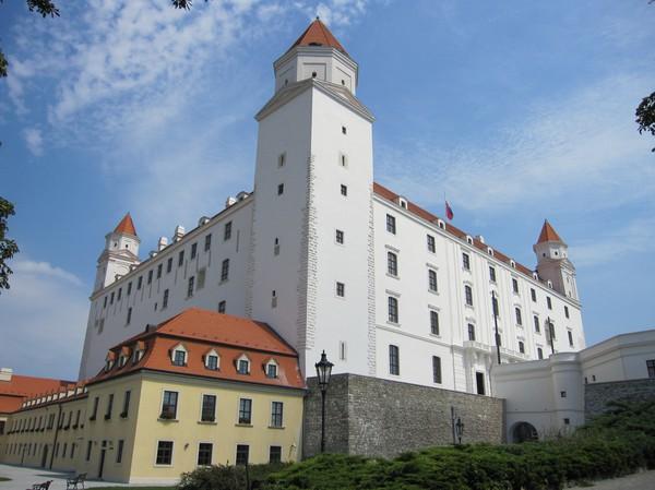 Bratislava castle, Bratislava.