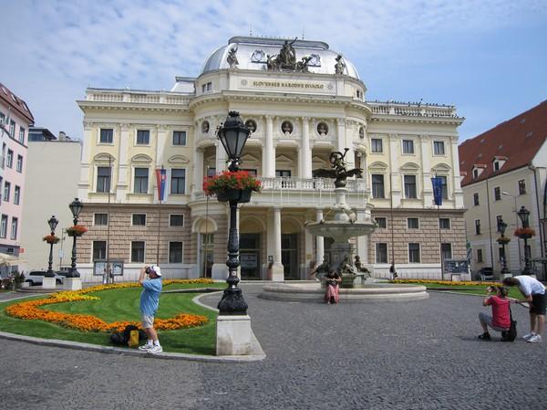 Slovak national theatre, Bratislava.