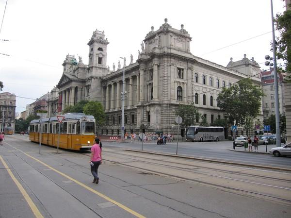 Gatuscen centrala Pest, Budapest.