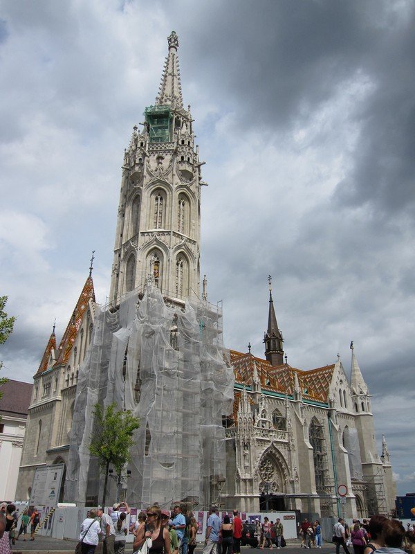 Matthias church, Budapest castle district.