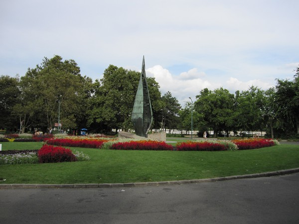 The Centennial Memorial, Margaret island, Budapest.