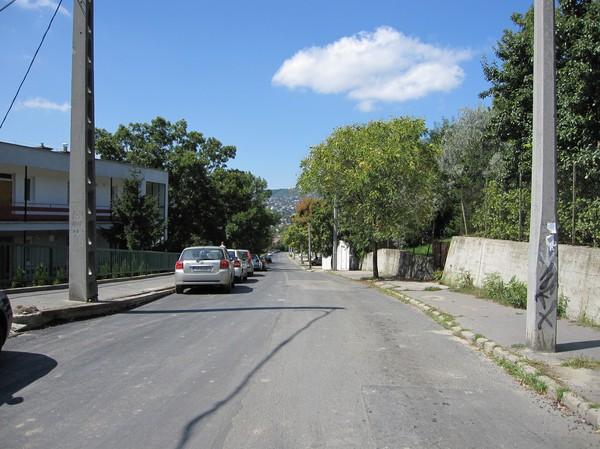 På vägen ner från Gellert Hill, Budapest.
