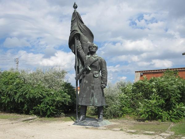 Memento Park utanför Budapest.