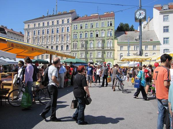 Karmelitermarkt, Wien.