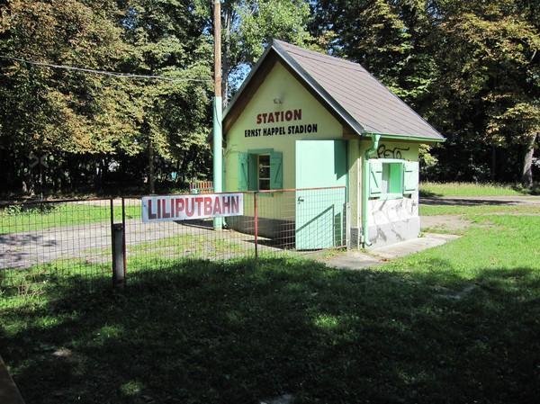 Liliputbahn, Praterområdet, Wien.