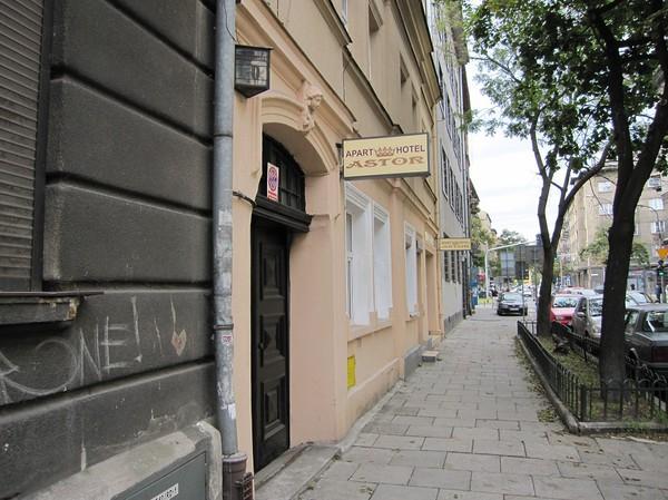 Mitt boende i Krakow. Lite mysigt familjärt ställe som låg hyfsat centralt, 1-2 km från centrala delarna av Krakow.