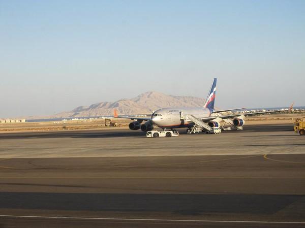 Flygplatsen i Sharm El-Sheikh.