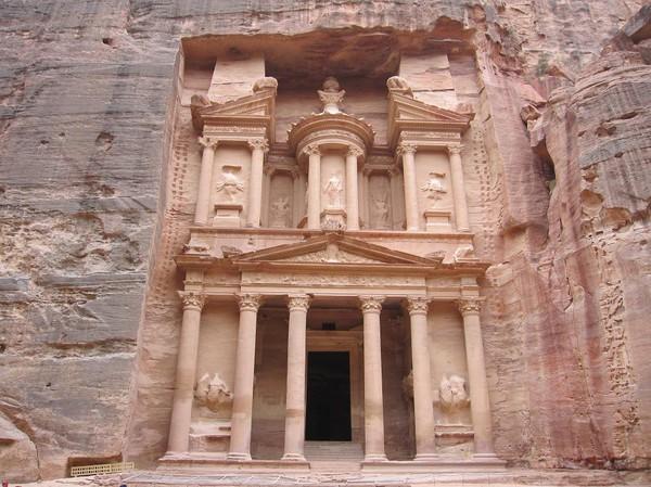 The Treasury. Det är väl den här som Petra kanske är mest känd för. Den är ju riktigt fantastisk, eller hur?