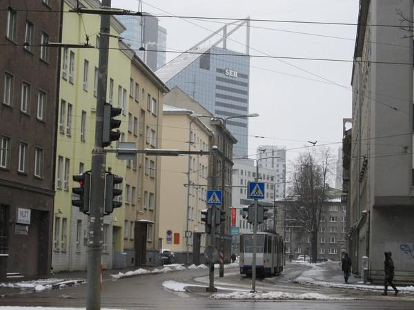 SEB och Swedbank är två svenska storbanker som har en tung närvaro i centrala Tallinn.