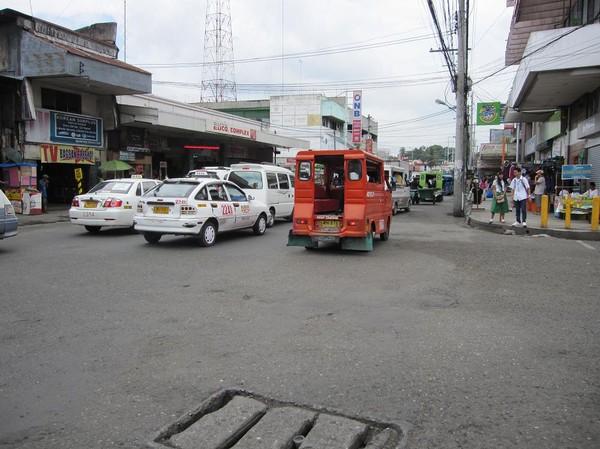 Gatuscen San Pedro street, downtown Davao.