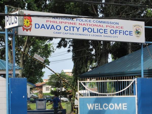 Davao polisstation, Davao.