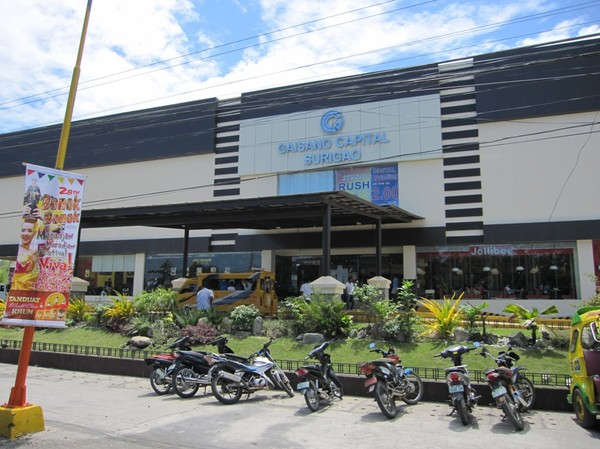 Gaisano mall, Surigao city.
