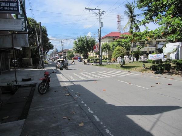 Gatuscen i centrala Baybay.