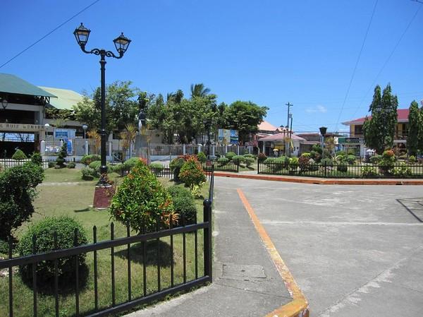 Town Plaza, Isabel, Leyte.