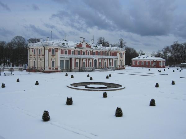 Kadriorgs slott, Kadriorg, Tallinn.