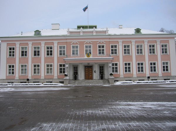Presidentpalatset, Kadriorg, Tallinn.