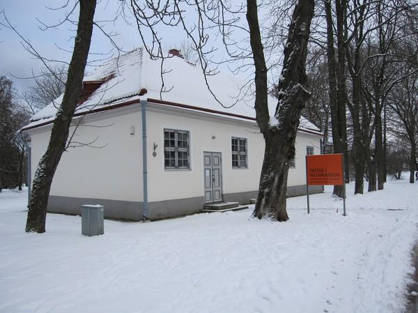 Peter den stores lilla stuga, Kadriorg, Tallinn.