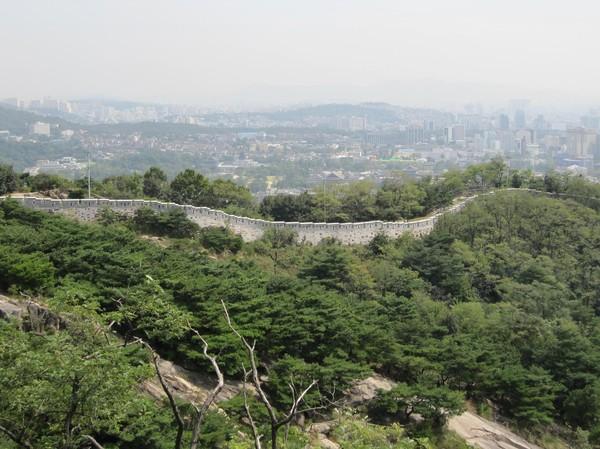 Seoul Fortress Wall.