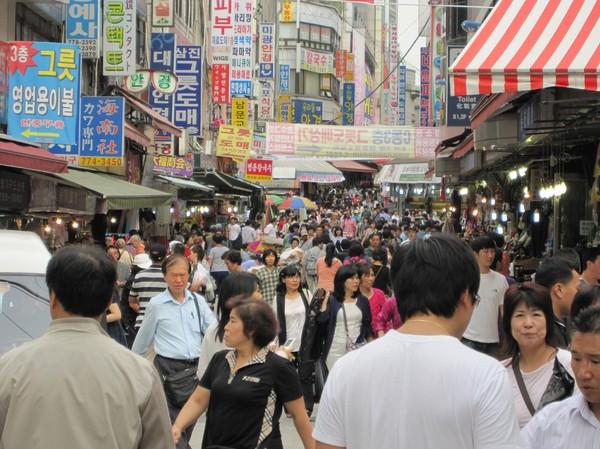 Namdaemun Market, Seoul.