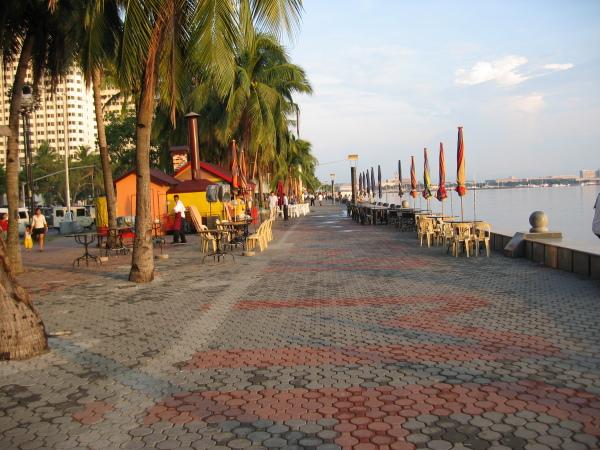 Strandpromenad Manila Bay, Manila.
