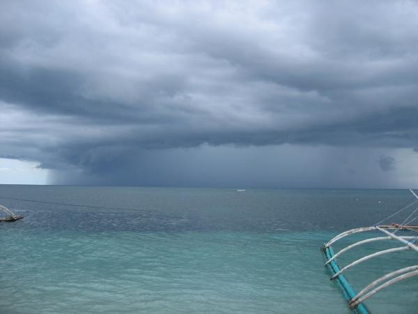 Tyfon på ingång, Malapascua