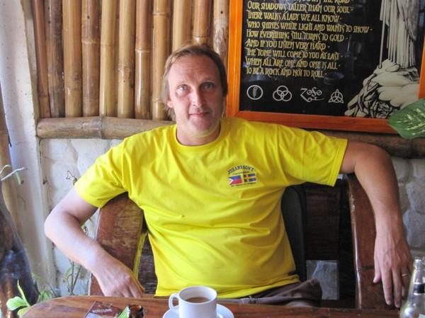 Henrik på HR Music & Restaurant Bar.