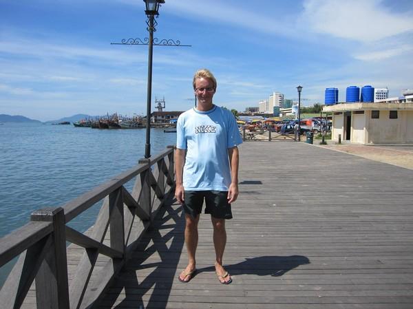 Stefan Kota Kinabalu waterfront.