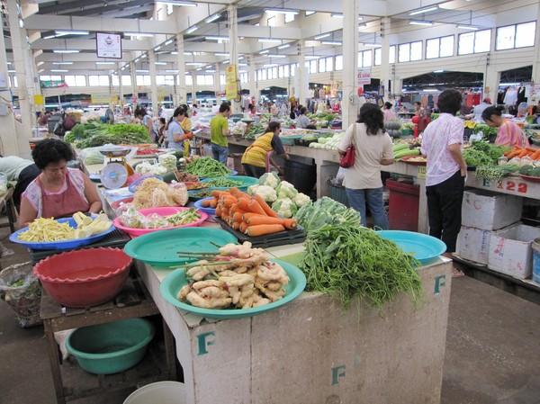 Marknaden i Udon Thani.