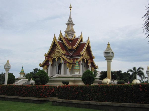 Udon Thani city pillar shrine.