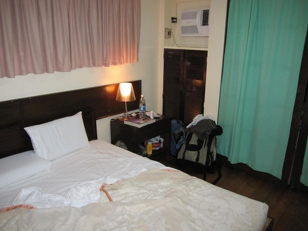 Hotellrummet Santa Fe beach Club, Bantayan island.