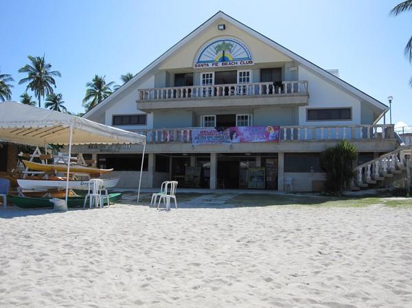 Santa Fe Beach Club, Bantayan island.