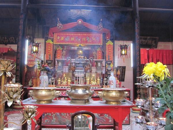Kuala Lumpurs äldsta taoisttempel, Sze Ya Temple.