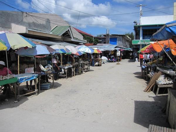 Marknaden i Bantayan town.