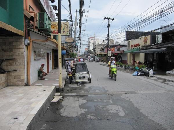 Så här ser den berömda gatan ut. Inte alls märkvärdigt.