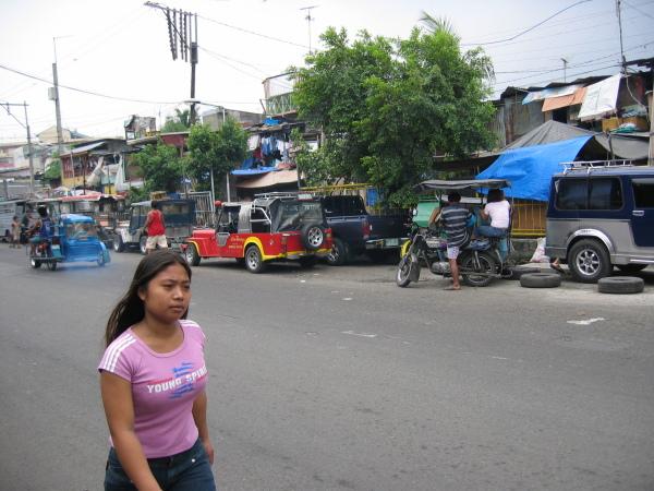 Tondo, slummens hemland, Manila.