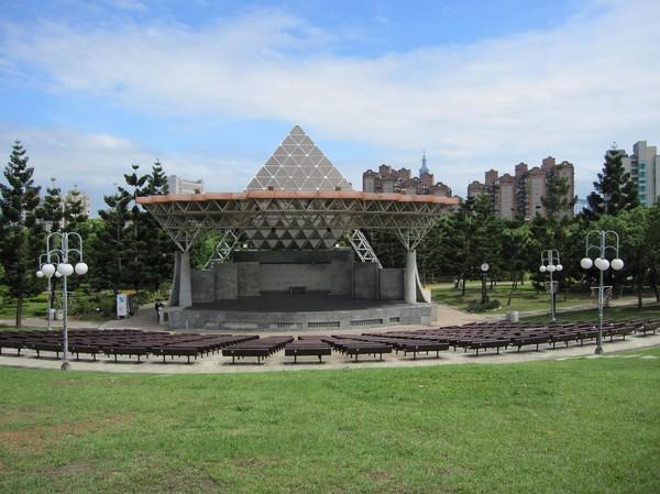 Daan park i centrala Taipei.