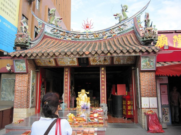 City god temple, Taipei.