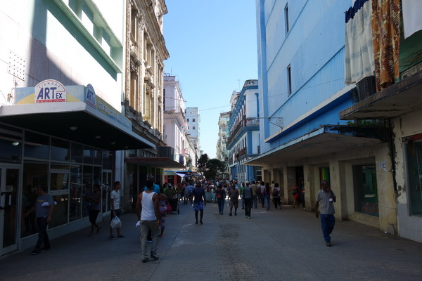 San Rafael Boulevard, Centro Habana, Havanna.
