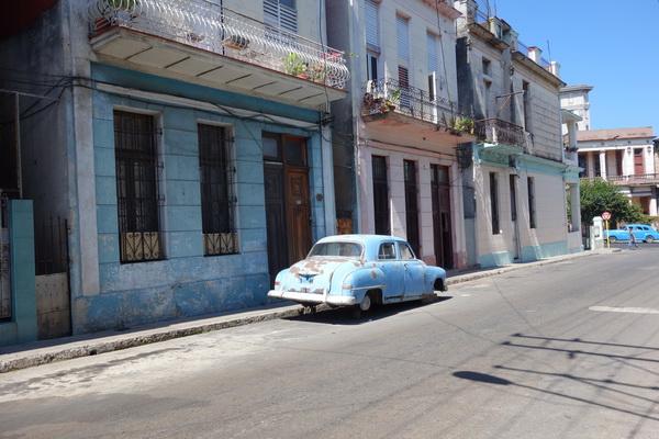 Renoveringsobjekt, Centro Habana, Havanna.