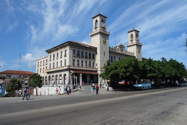 Estación Central de Ferrocarriles, Kubas största tågstation, Havanna.