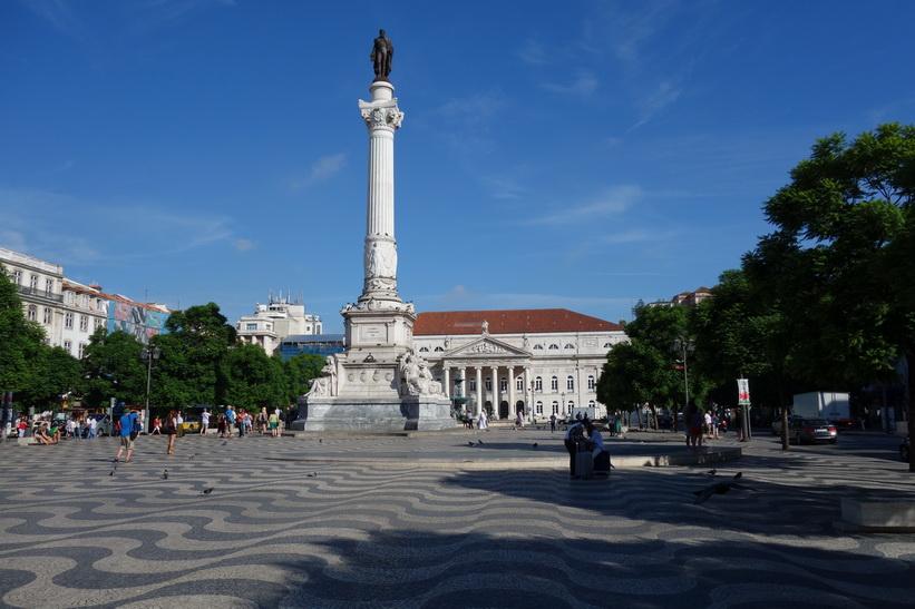 Praça do Rossio, Lissabon.