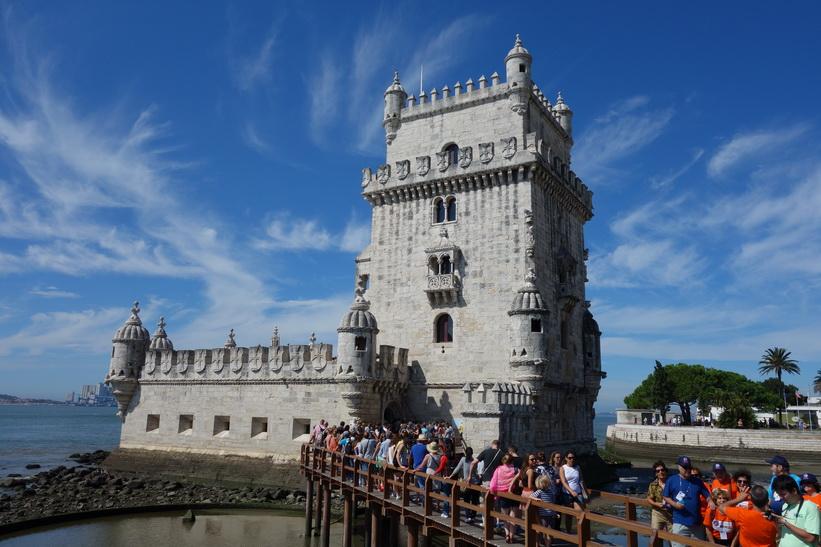 Torre de Belém, Belém, Lissabon.