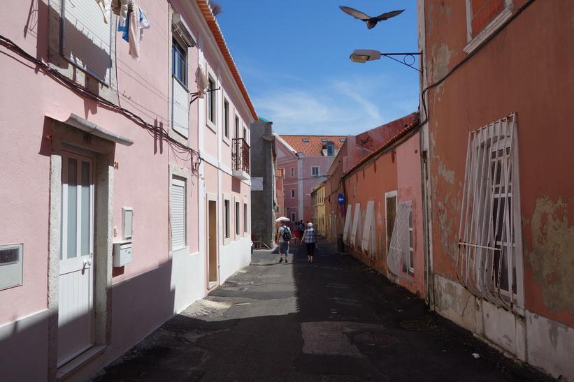 Gatuscen i Belém, Lissabon.